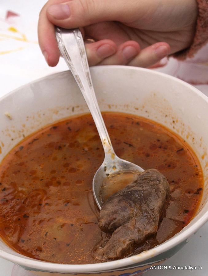 рецепт оленины с из фото шурпа