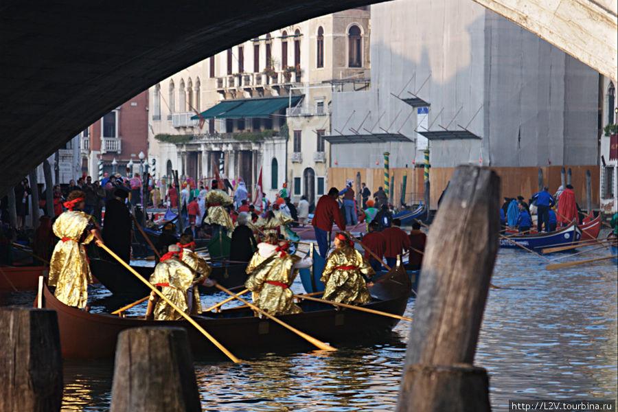 Парад лодок на Большом канале