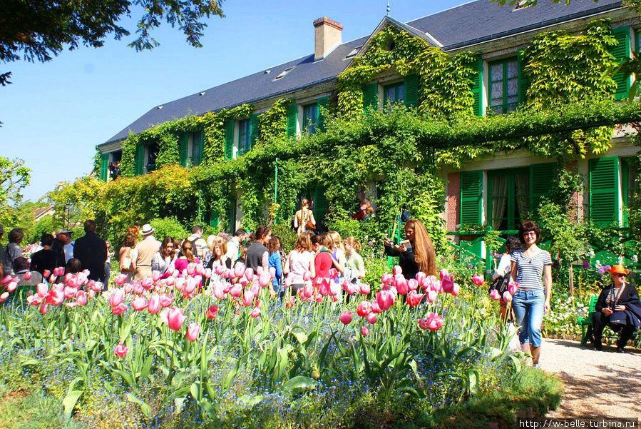 Дом — музей Клода Моне.