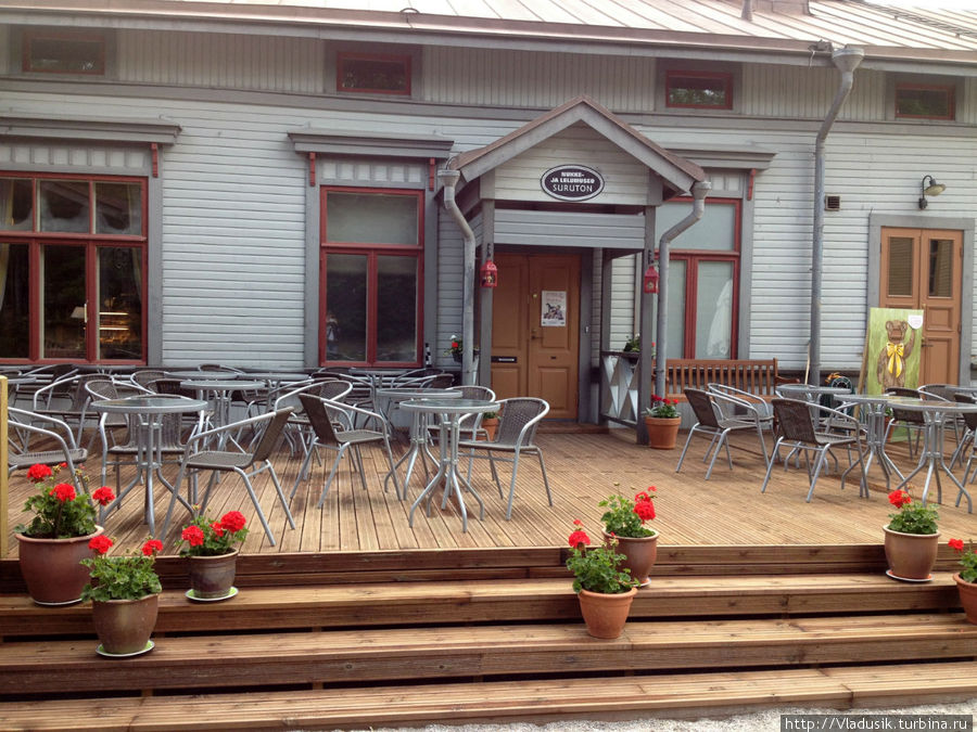 Дворик музея, кафе