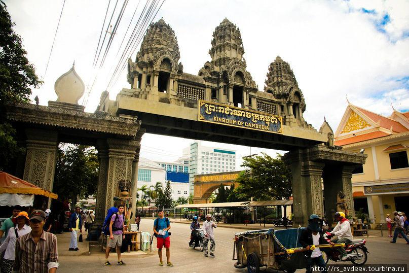 Граница Тайланда-Камбоджи (Пой Пет)