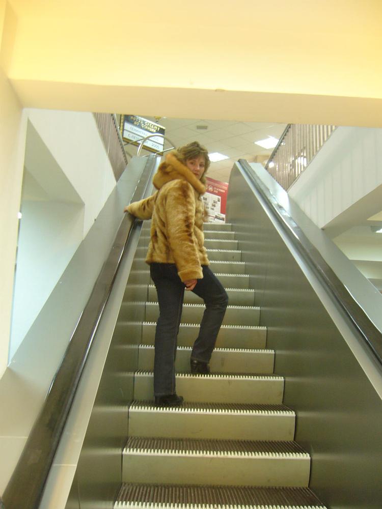 лестница-чудесница бежит