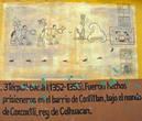 3Тепатл- 6Акатл(1352-1355) Много рабов в тюрьме Контитлана по велению короля Козкозтли.