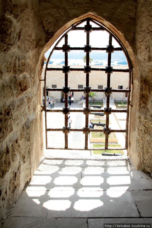 Вид на внутренний двор крепости