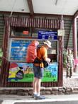 Шанин покупает билеты в национальный парк, которые стоят для фарангов в два раза дороже,чем для местных...400 бат.