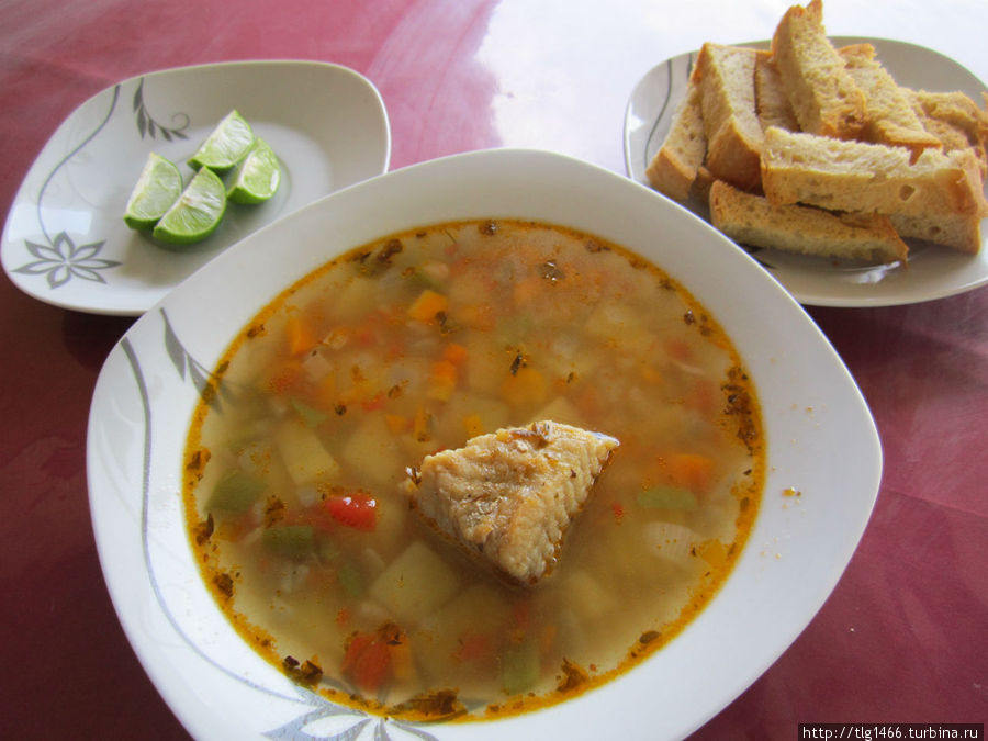 суп со скатом — очень вкусно