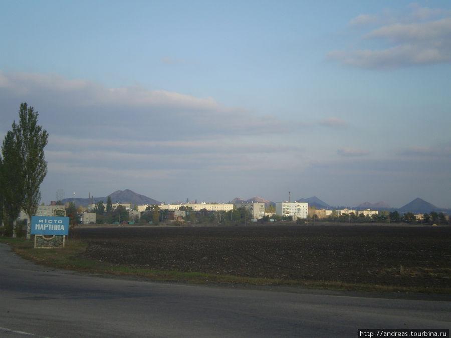 Обычный пейзаж для Донбасса
