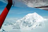 Верхушка горы Маккинли — более 6 км высотой