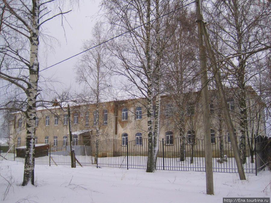 Здание бывшей богадельни (ныне — больница)