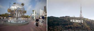 Город Лос-Анджелес, как и многие другие города в Америке, это целый десяток небольших городков, объединённых в одно административное образование. В каждом городке есть свой центр, своя жизнь, свой небольшой Даунтаун. В случае с городом ангелов, который имеет холмистый рельеф, городская среда делится на две части — сам ЛА по одну сторону холма и