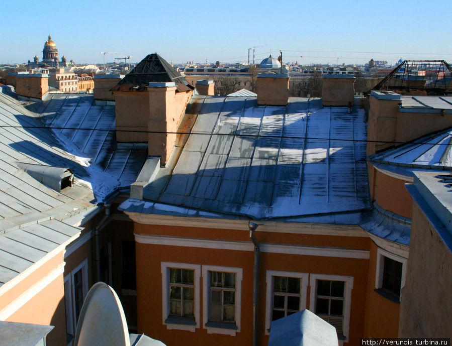 Крыша, с которой я снимала