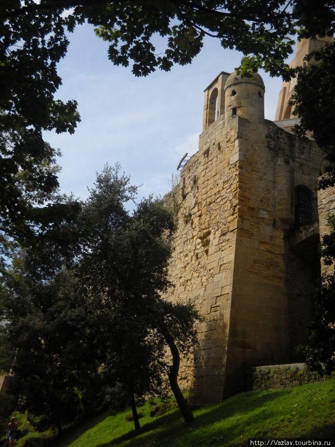 Одна из стен цитадели