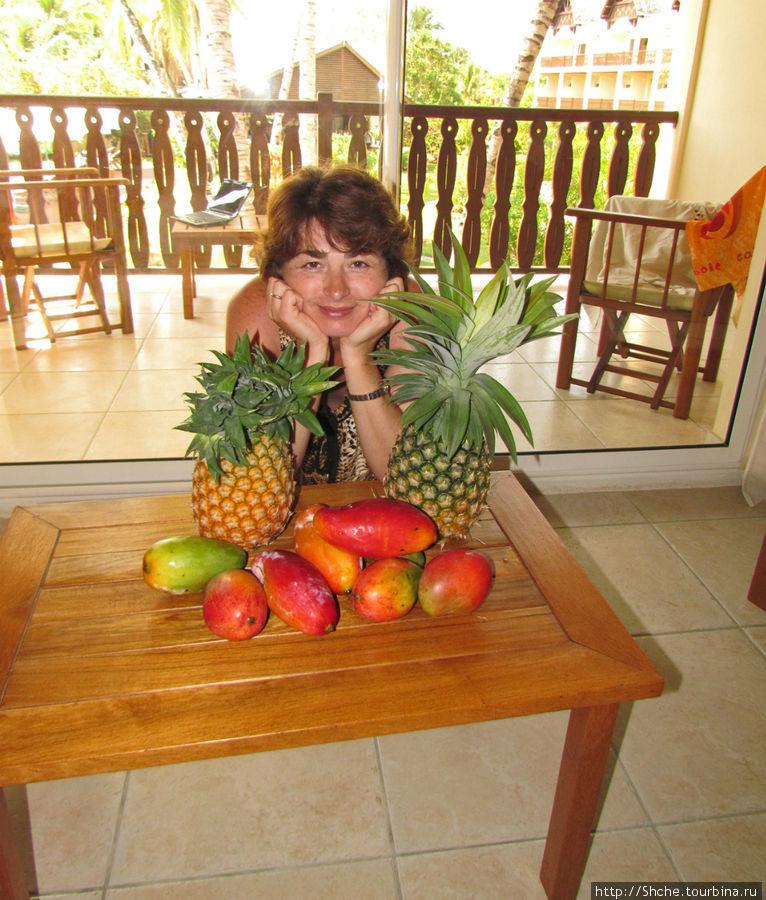 это фруктовое счастье куплено на пляже за 5 долларов