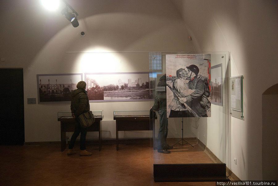 На экспозиции