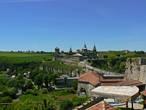 Вид на старую крепость из города
