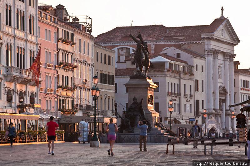 Венеция без туристов, обы