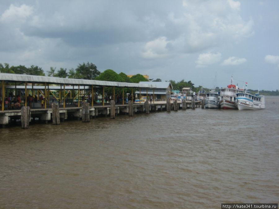 Сантарен и продолжение путешествия по Амазонке Сантарен, Бразилия