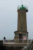 Зеленый маяк.