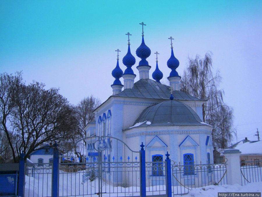 Введенский собор в Рыбной слободе