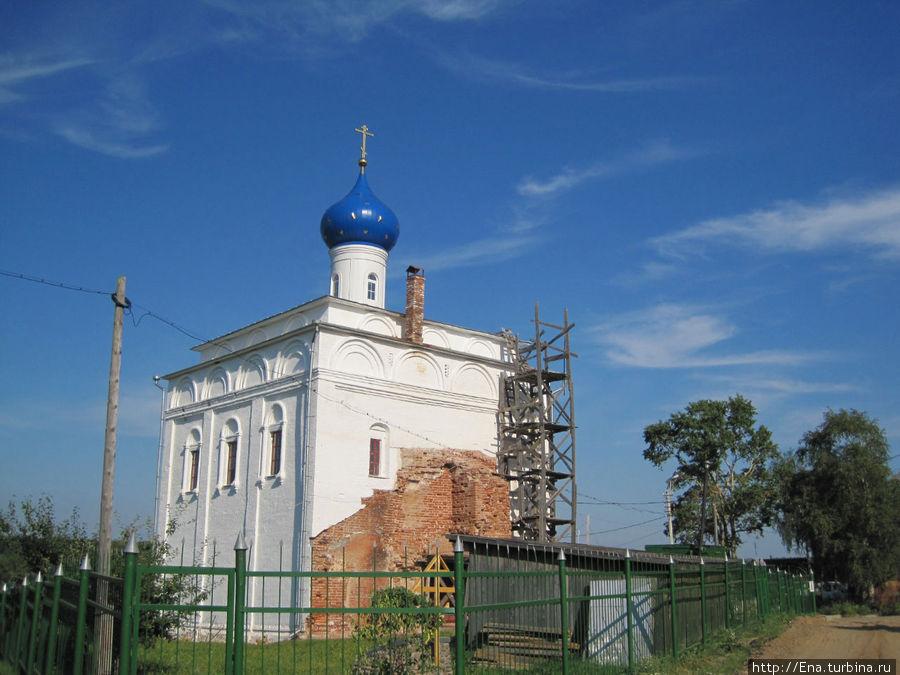 Благовещенская церковь — приятно, что она восстанавливается!