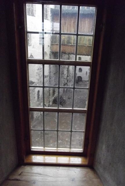 Вид из окна замка Турку