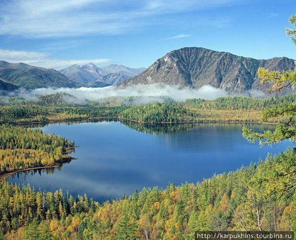 Большое Гутарское озеро неподалёку от Верхней Гутары.