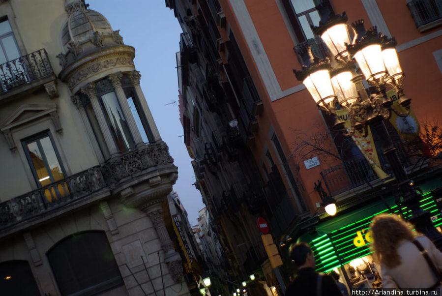 Улица Boqueria