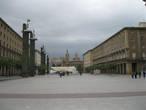 Сарагоса. Площадь перед базиликой.