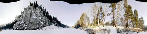 Панорамный вид на гору Толстик. Автор — Павел Добряк, с разрешения которого я размещаю эту фотографию