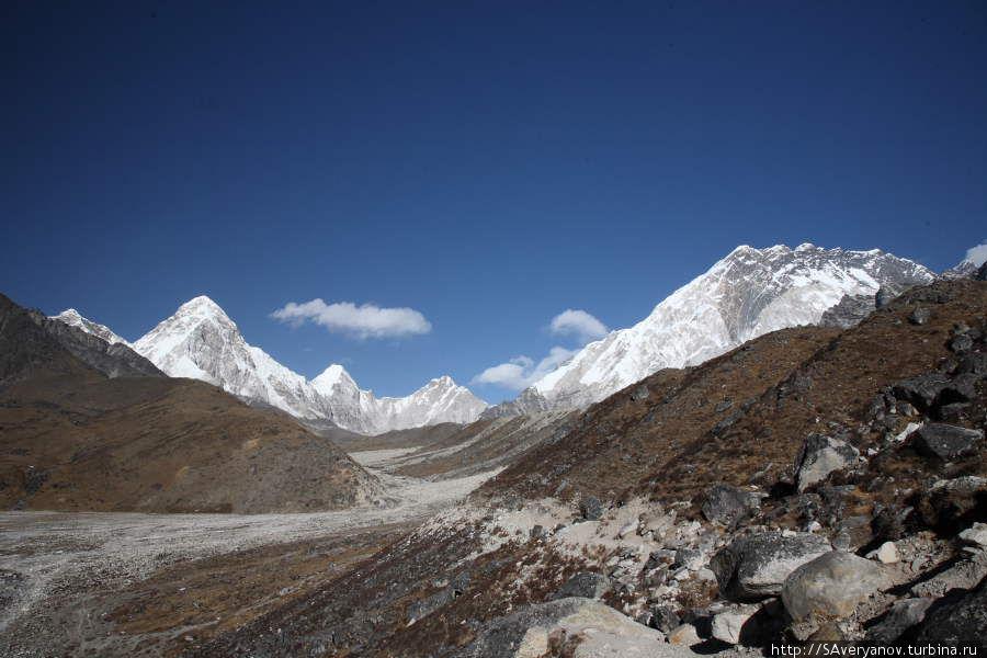 Морена ледника Кхумбу