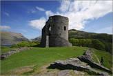 Главным строением замка являлась большая круглая башня внутри, которой находились различные помещения.