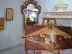 В Буйском краеведческом музее. Выставка буйских умельцев-резчиков по дереву