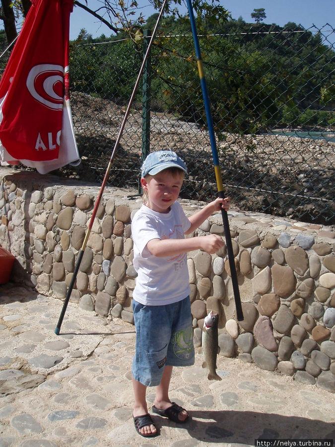 рыбалка в алании