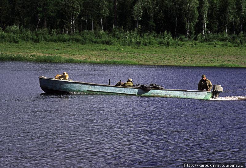 Подкаменная Тунгуска здесь не просто река. Кроме всего прочего, это ещё и дорога.