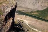 Внизу долина Чулышмана