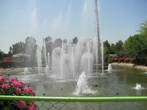 Музыкальный фонтан.
