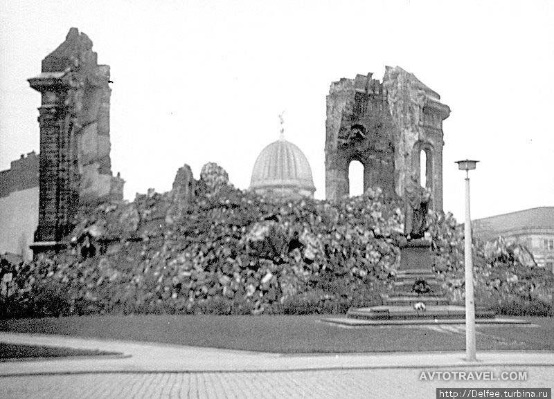 Храм после бомбардировки