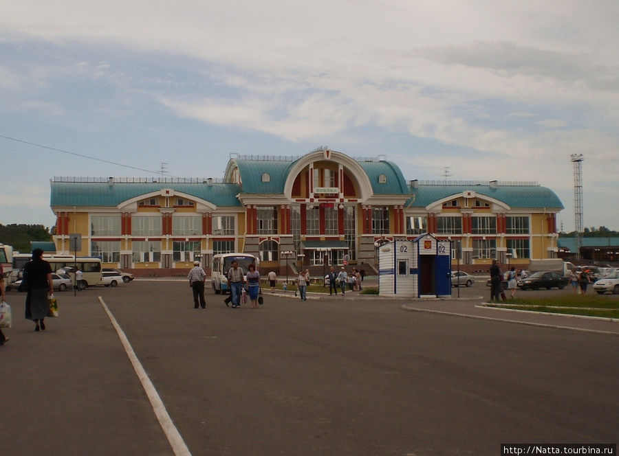 Железнодорожный вокзал в Бийске