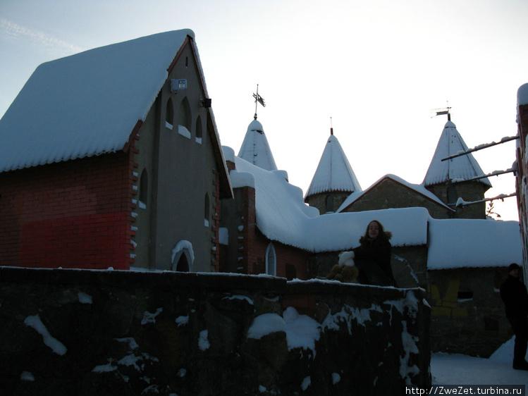 башни сказочного замка