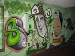 граффити в переходе