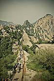 вид на северный пик горы Хуашань