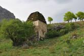 Мавзолей, до сих пор сохраняющий останки жителей селения