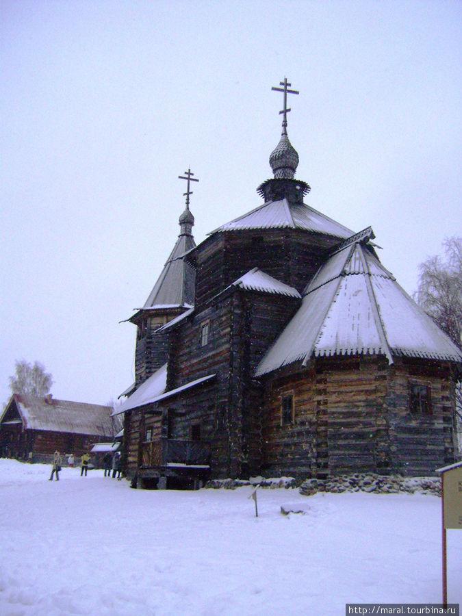 Воскресенская церковь XVIII века