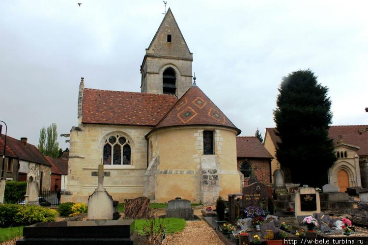 Церковь Сент — Пьер со ст