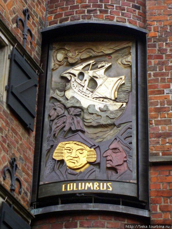 Панель 3. Христофор Колумб