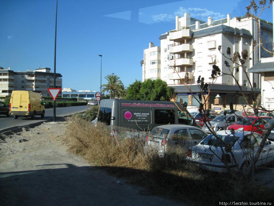 Улочки центра Ибицы