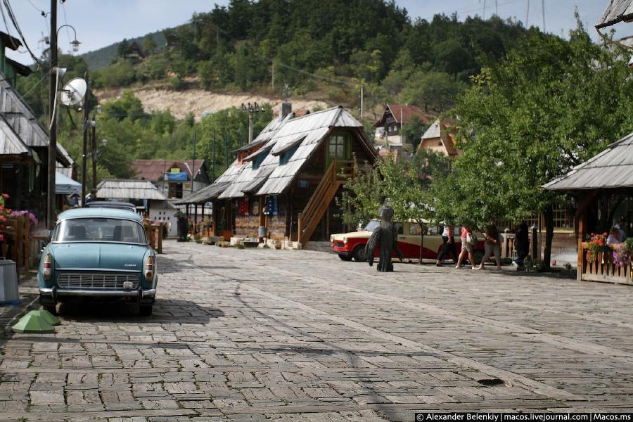 В гостях у Эмира Кустурицы Мокра Гора, Сербия