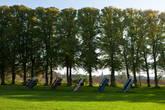 Инсталляция в парке замка Марсвинсхольм
