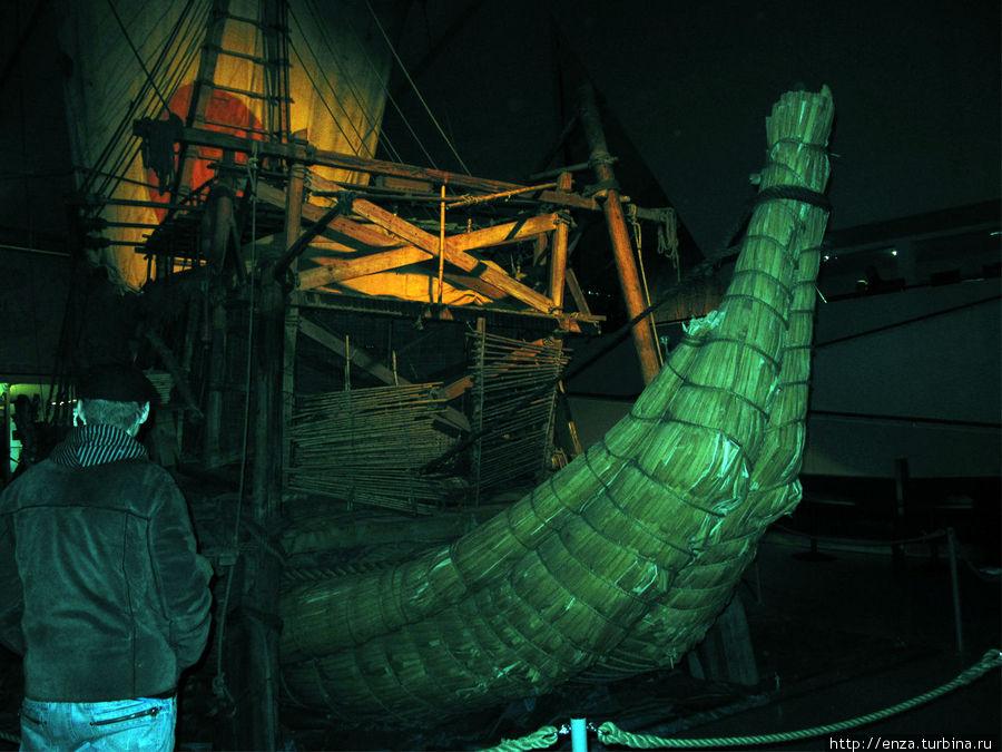 Папирусная лодка Ра-II.