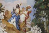 Деталь фрески — аллегория Африки